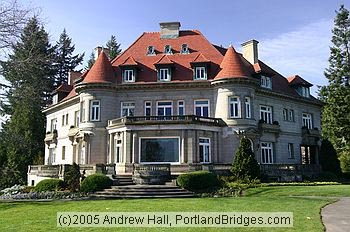 Pittock Mansion in Portland.  Used with permission.