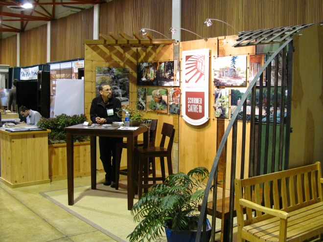 Shirmer Satre Landscape Architects exhibit at the 2013 Sustainable Living Show