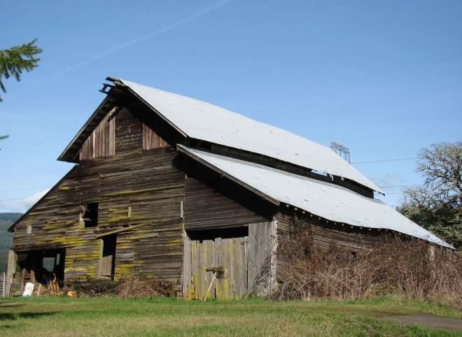 A barn from days gone bye.