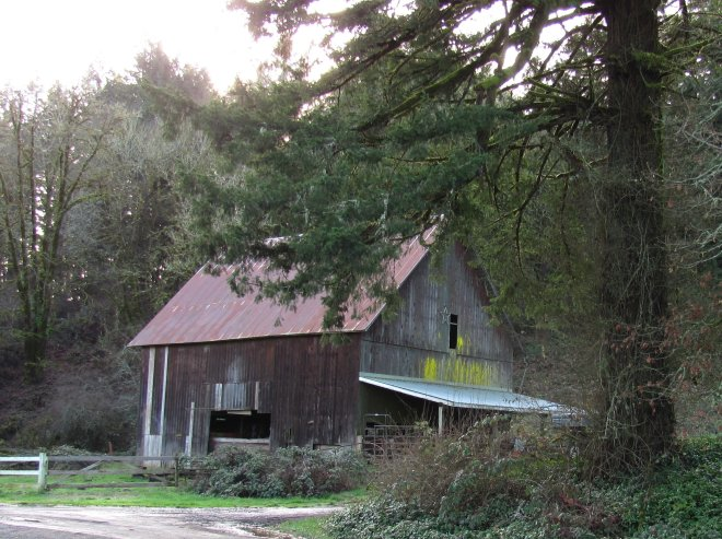 Still a working barn, it shows its history.
