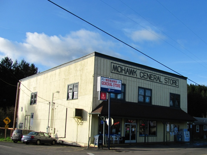 The Mohawk General Store has stood for 99 years.
