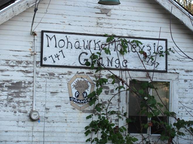 The old Mohawk Grange.