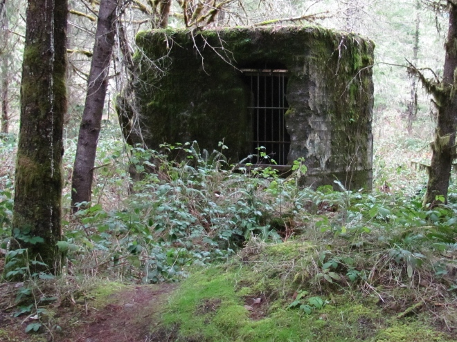 One of the few remaining remnants of the old Wendling mill complex.