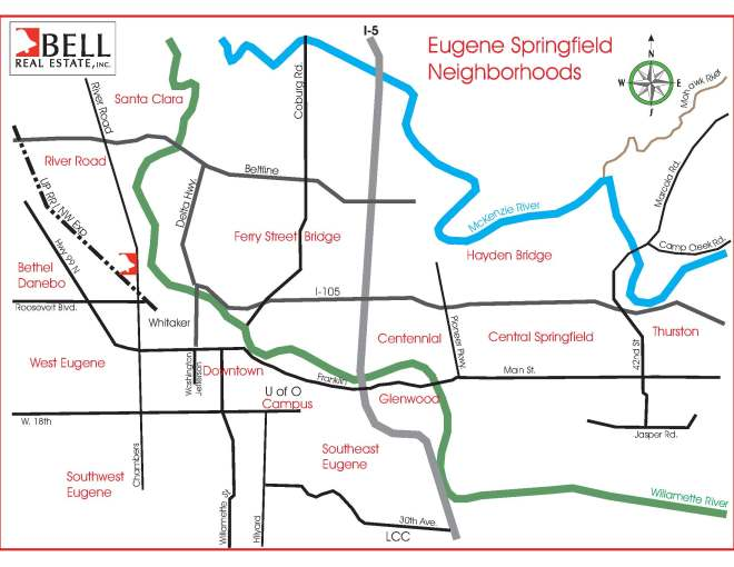 Eugene Springfield neighborhoods.